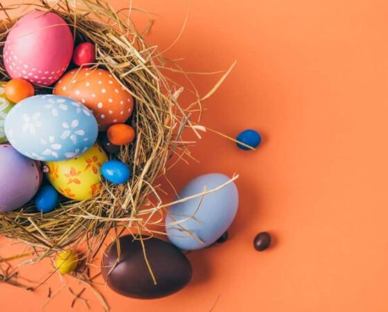 Congratulations on the Easter holidays!